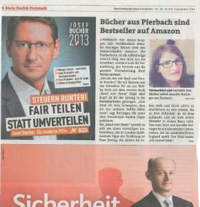 Mein Bezirk Freistadt, 19&20.10.2013 - Artikel